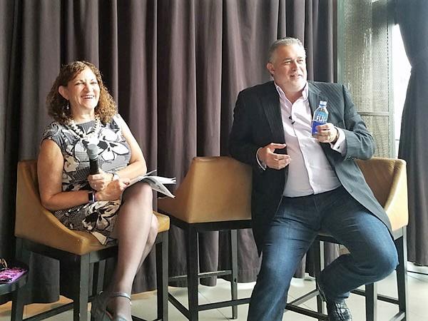 Oct 3-4, 2018 SAC Annual Meeting - Linda Popky and Jeff Hayzlett