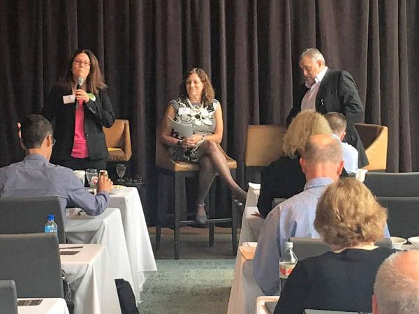 Oct 3-4, 2018 SAC Annual Meeting - Lisa Anderson, Linda Popky and Jeff Hayzlett